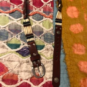 Muskoka Lakes Handmade Leather Belt